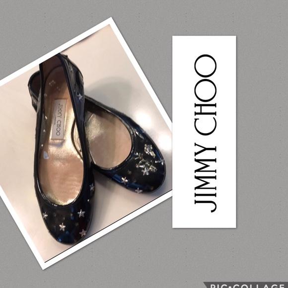 00d4d6d1a205 Jimmy Choo Shoes - Jimmy Choo Ballet Flat Shoes Size 37